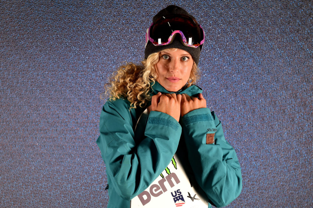 How much does snowboarding champion Lindsey Jacobellis make?