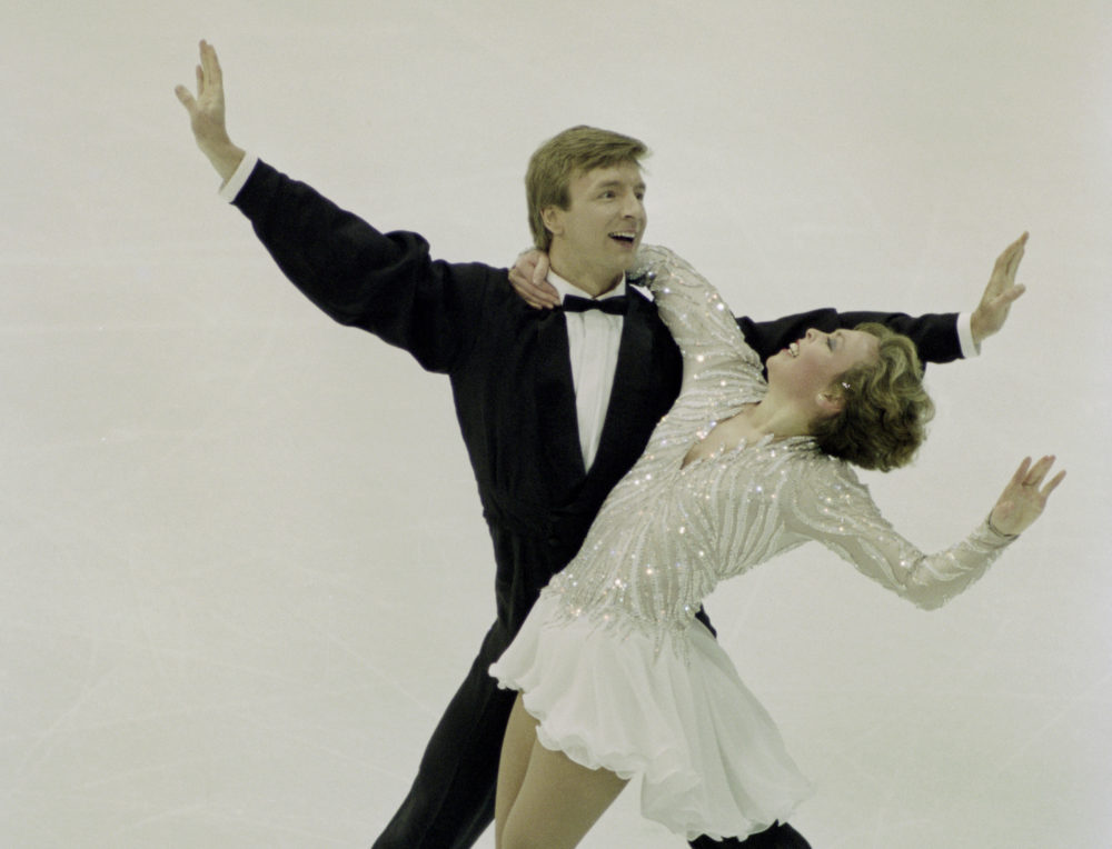 Here's why people are talking about ice dancing vets Jayne Torvill and Christopher Dean at the 2018 Olympics