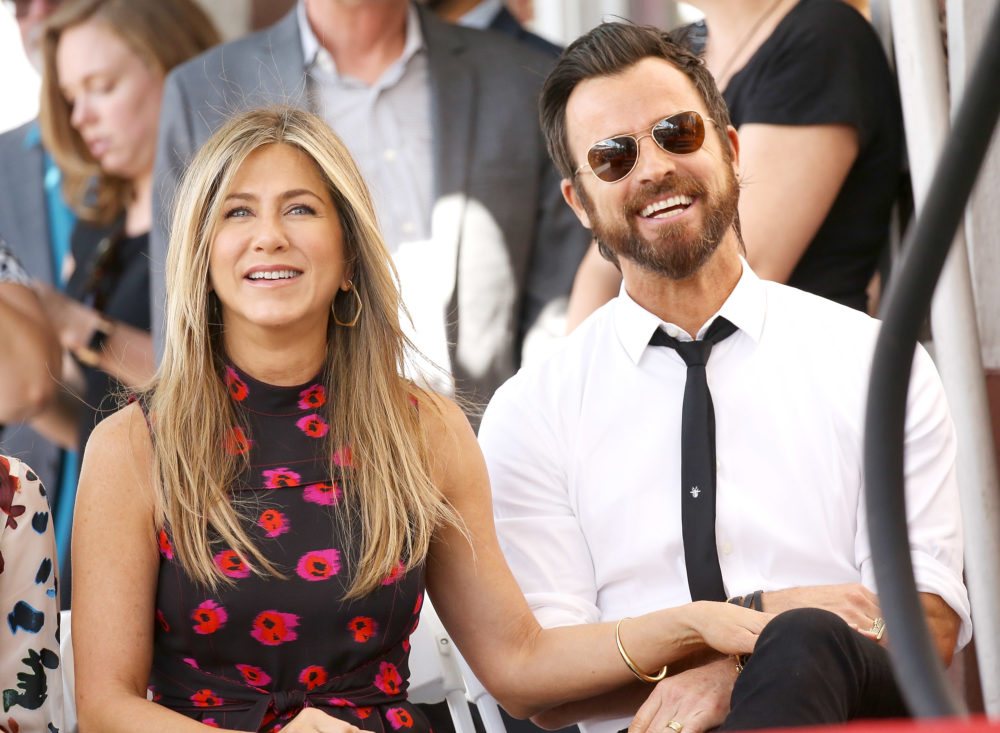 Jennifer Aniston and Justin Theroux are separating, because love is still dead in 2018