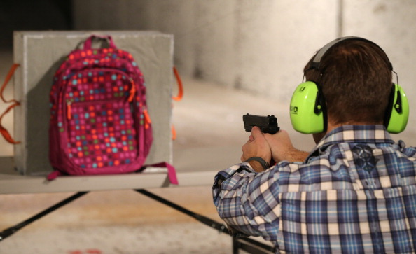 Apparently bulletproof backpacks are on the rise in Florida, and this is not a solution