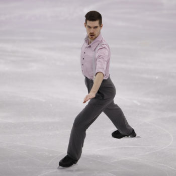 "An Olympic skater performed a jazz version of  ""Wonderwall,"" and Twitter has lost it"