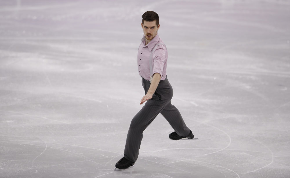 """An Olympic skater performed a jazz version of  """"Wonderwall,"""" and Twitter has lost it"""