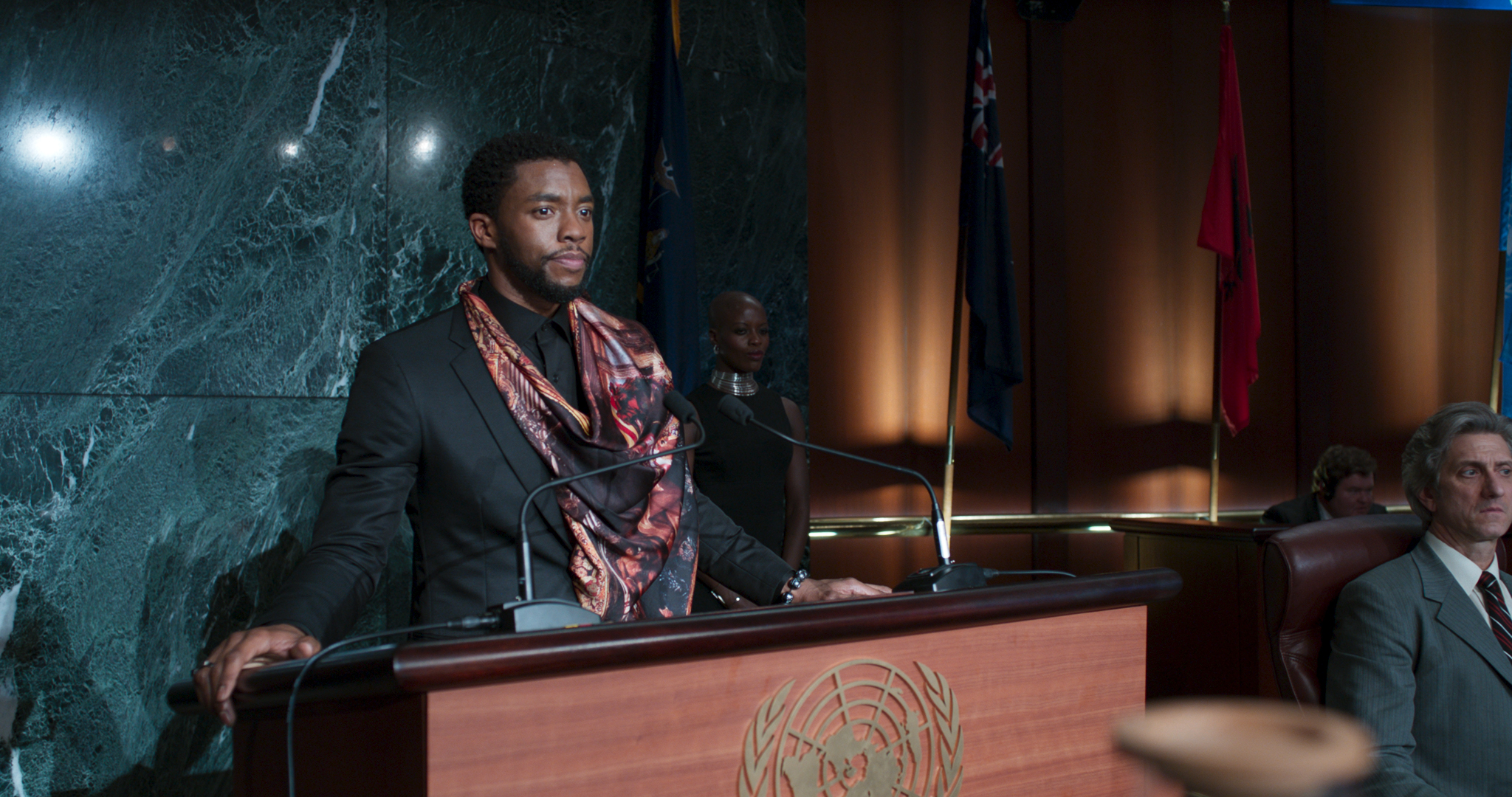 """Black Panther"" has two end credit scenes, so don't leave the theater right away"