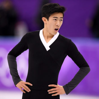 Watch Nathan Chen land SIX quadruple jumps in one routine at the 2018 Winter Olympics without breaking a sweat