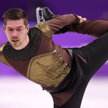 """Twitter can't handle the Olympian who skated to """"Game of Thrones"""" music — or Johnny Weir and Tara Lipinski's commentary about his routine"""