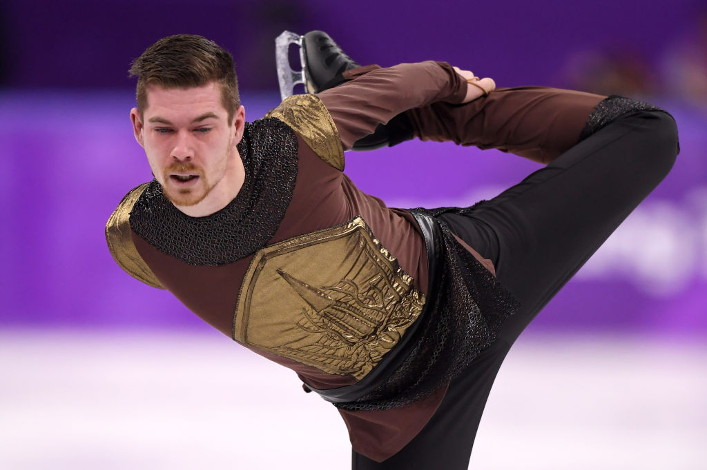 "Twitter can't handle the Olympian who skated to ""Game of Thrones"" music — or Johnny Weir and Tara Lipinski's commentary about his routine"