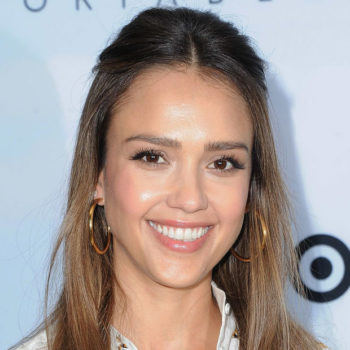Jessica Alba just shared a picture of herself breastfeeding in a Target fitting room, and we applaud her
