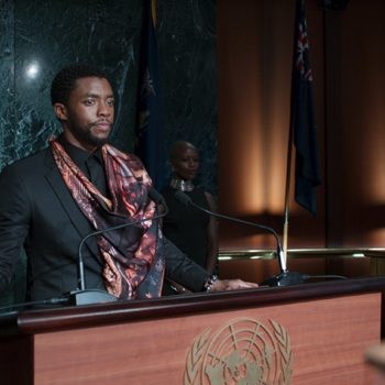 "The end credit scene in ""Black Panther"" might be a subtle dig at Donald Trump"