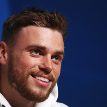 Gus Kenworthy kissed his boyfriend on live TV during the Olympics, and we hope Mike Pence was watching