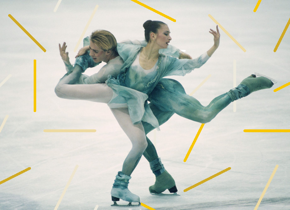 The glorious gaudiness of figure skating fashion: from genie outfits to bridalwear on ice