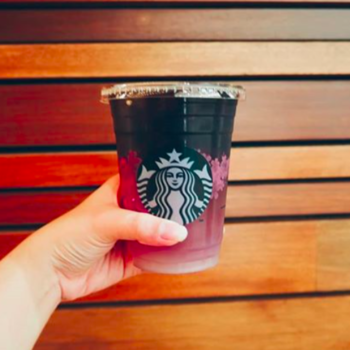 Starbucks's new Butterfly Pea Flower Lemonade Cold Brew is a drinkable mood ring