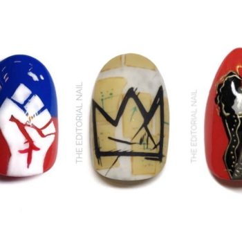Nail artist Gracie J is celebrating Black History Month with designs that honor Black icons