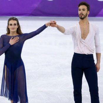 Olympian Gabriella Papadakis bounced back from her wardrobe malfunction to win a silver medal, and YASS!