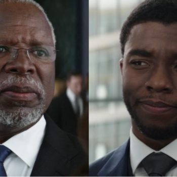 """King T'Chaka is actually played by a real life father and son in """"Black Panther"""""""