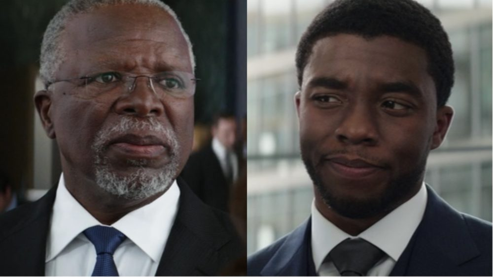 "King T'Chaka is actually played by a real life father and son in ""Black Panther"""