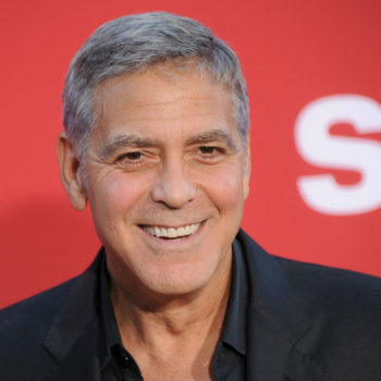 People believe George Clooney is going to run for president in 2020