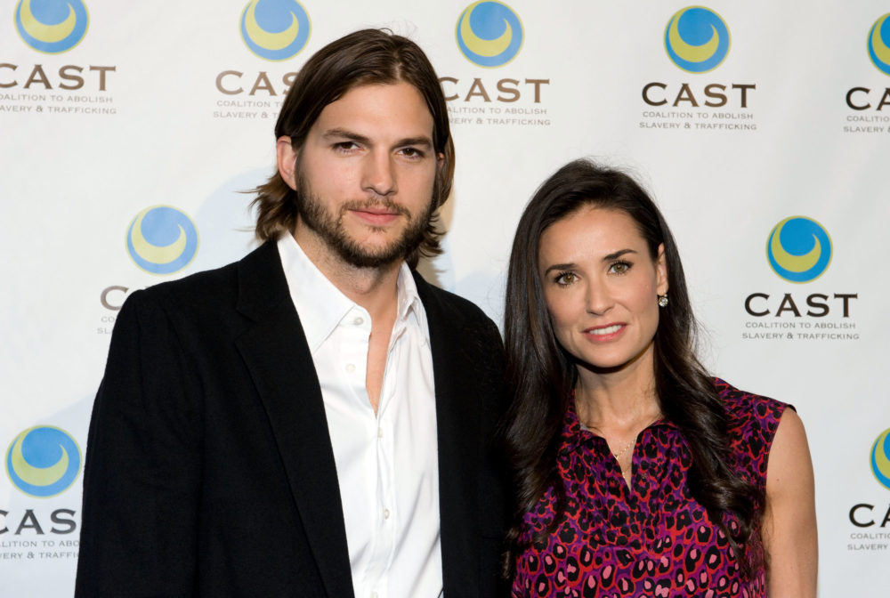 Ashton Kutcher apparently spent a week hallucinating in the woods after his divorce from Demi Moore, as one does