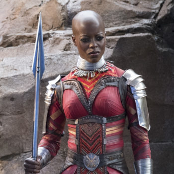 "Florence Kasumba plays a warrior in both ""Wonder Woman"" and ""Black Panther,"" and that makes her a real-life superhero"