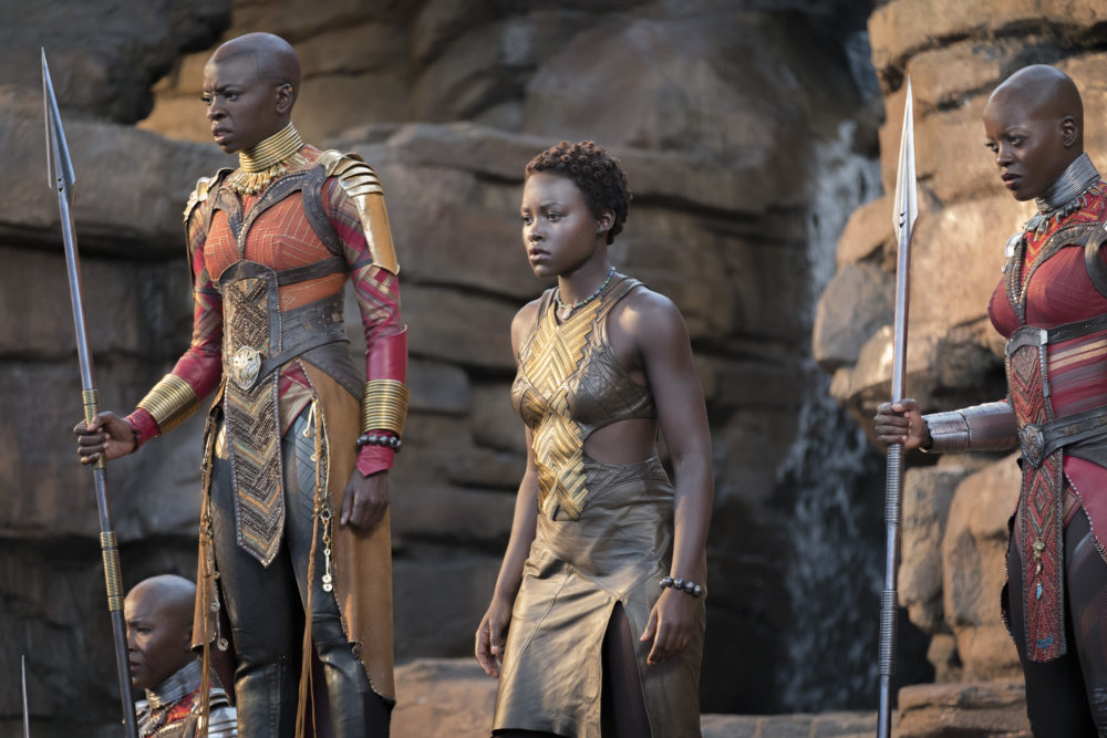 "These behind-the-scenes pictures from ""Black Panther"" are definitive proof that the cast had the BEST time filming"