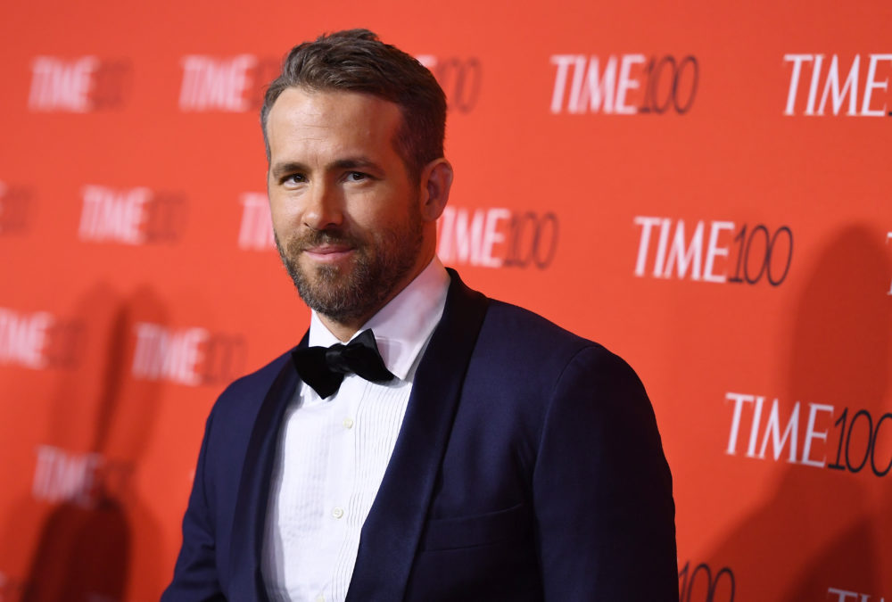 Ryan Reynolds now owns a liquor company, because of course he does