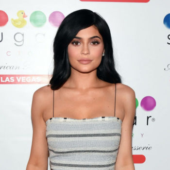 Kylie Jenner posted about Stormi for the first time since giving birth, and she looks like a mini Kylie