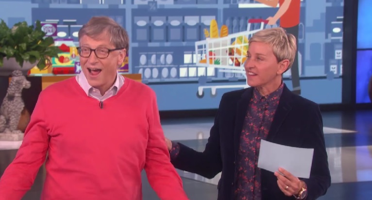 Bill Gates desperately trying to guess how much pizza rolls cost is weirdly giving us life