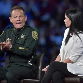 The sheriff in Parkland, Florida literally called B.S. on NRA spokeswoman Dana Loesch last night