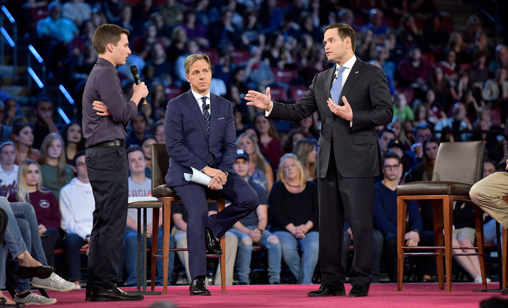 A 17-year-old Parkland survivor demanded answers from Marco Rubio at the CNN town hall, is our hero