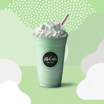 The Shamrock Shake is officially back, so who needs a four-leaf clover?