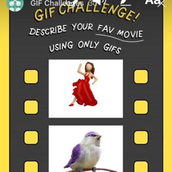 """How to do the """"favorite movie"""" GIF Challenge on Instagram"""