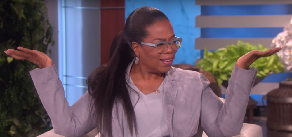 Oprah really doesn't care that Trump hate-tweeted her