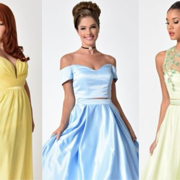 These Disney prom dresses will make you feel like the Belle of the ball, even if your date turns out to be a beast