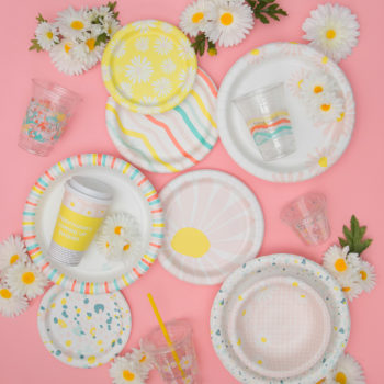 Dress up your dinner parties with Oh Joy!'s super cute tableware collection