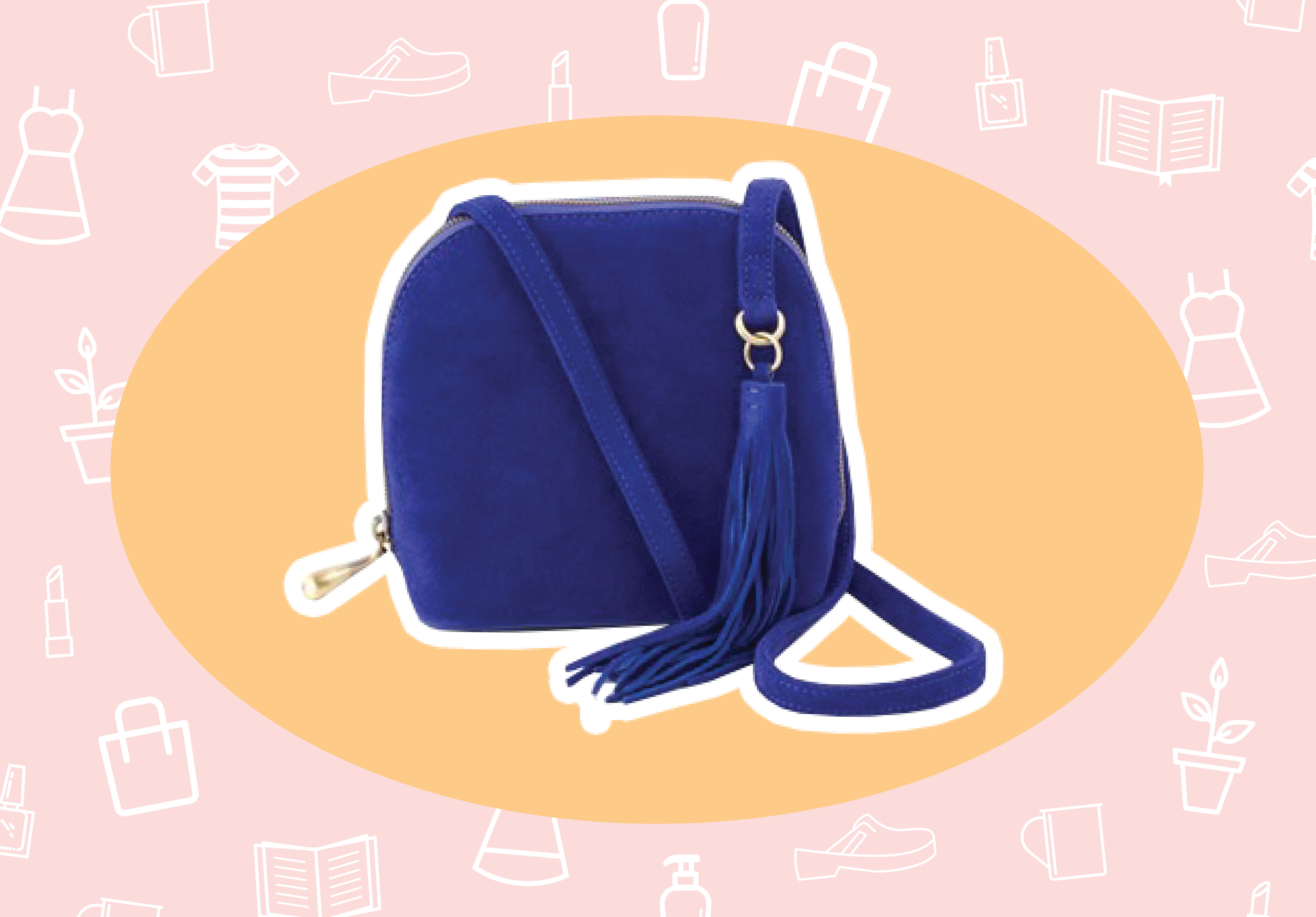 WANT/NEED: A cobalt blue bag to add a pop of color to your winter uniform, and more stuff you want to buy
