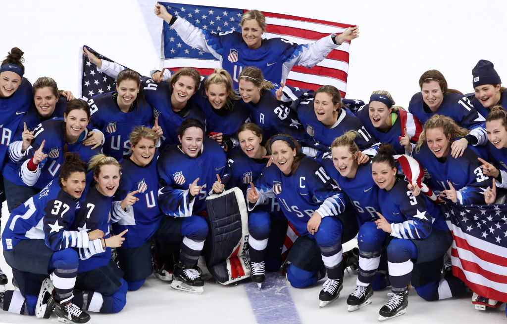 6 things to know about the Team USA Women's hockey team that just won gold in a historic game