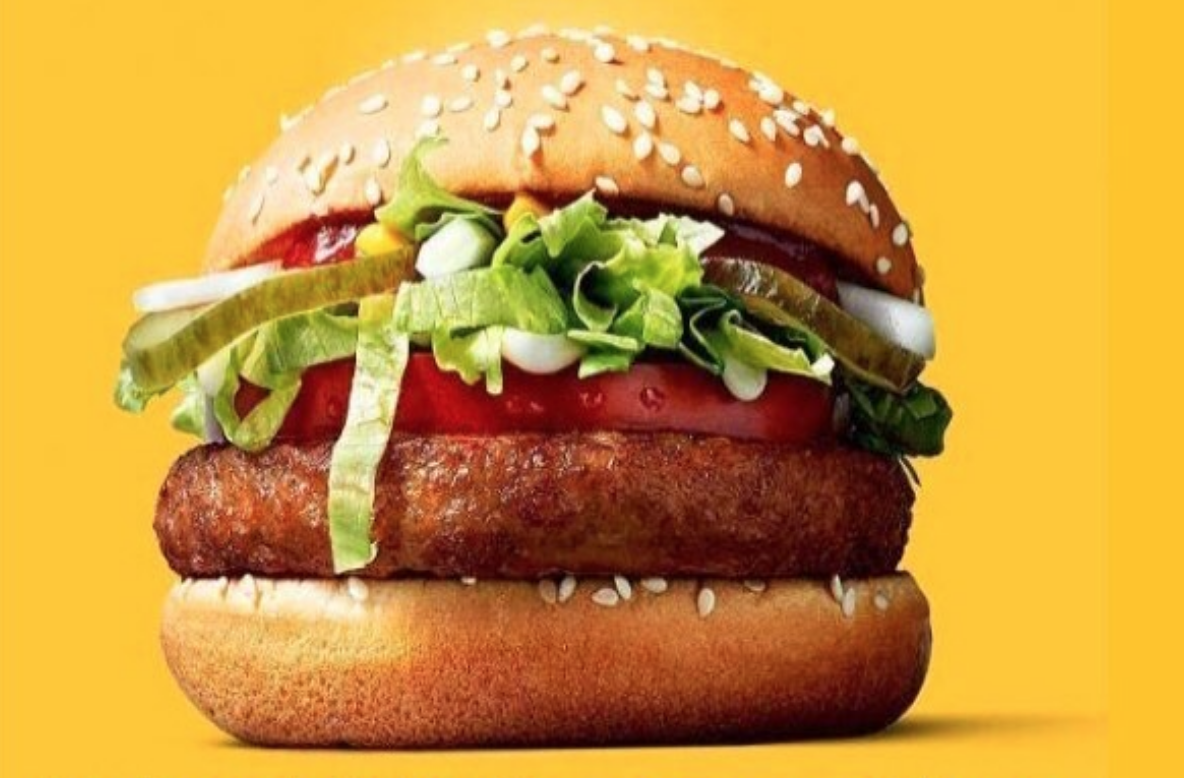People are truly loving this vegan burger from McDonald's