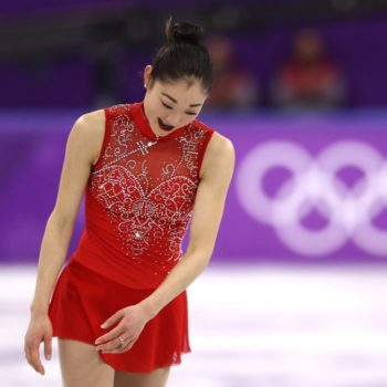 The U.S. women's figure skaters broke a not-so-great record today, but we still love them