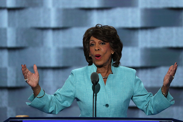 No, Congresswoman Maxine Waters did *not* post that offensive tweet about gun control