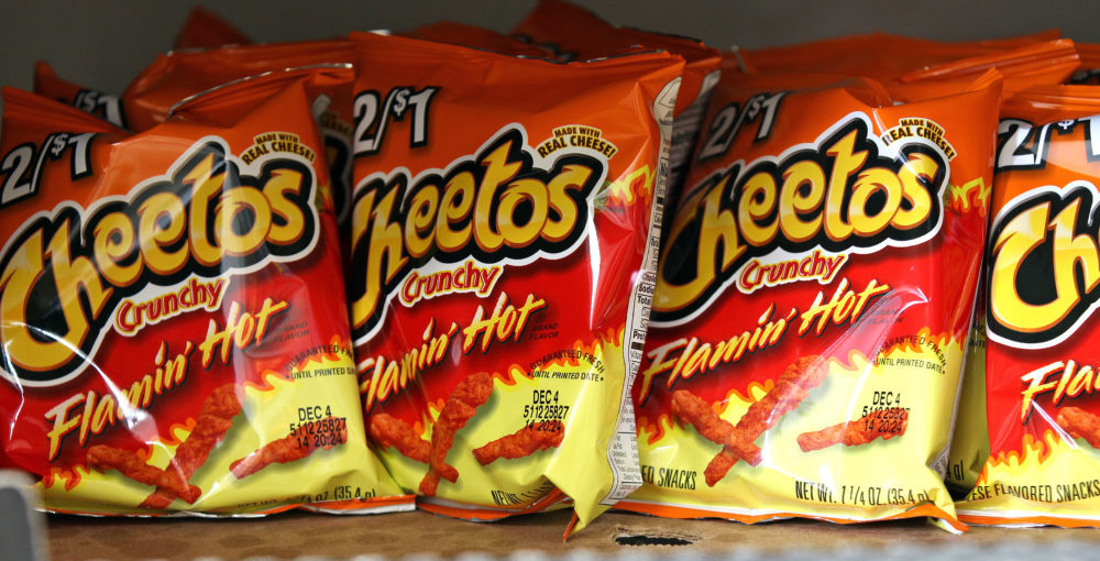 A Flamin' Hot Cheetos movie is in the works — and yes, you read that right
