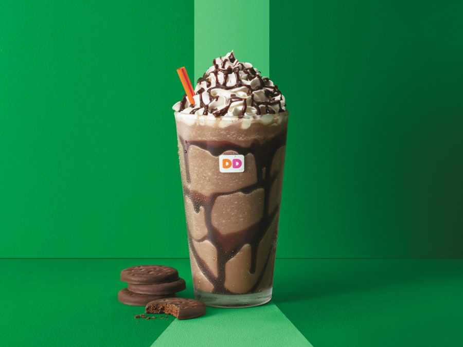 Dunkin' Donuts is launching Girl Scout cookie-inspired coffee, and this is not a drill