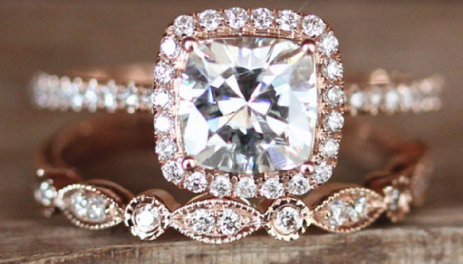 This year's brides are obsessed with a non-diamond engagement ring that's way cheaper than its sparkly cousin