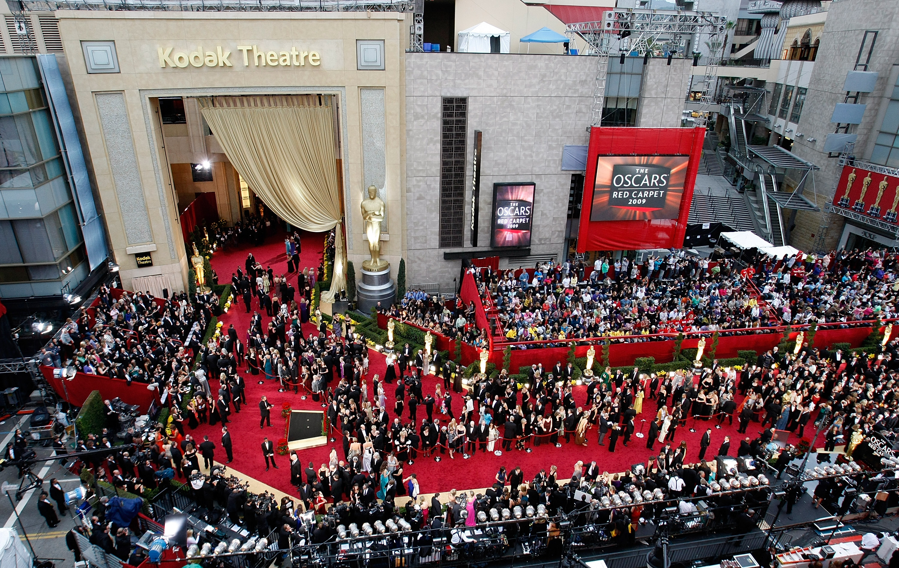 The total cost of the Oscars ceremony is a mind-boggling $44 million