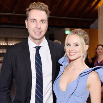 Kristen Bell and Dax Shepard spotted their twins at the Olympics, and we're seeing double