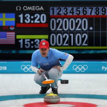 The U.S. men's curling team won gold, but hilariously received the wrong medals