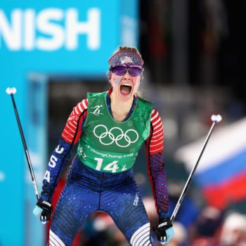 Who is Jessie Diggins? The cross-country skier will carry the U.S. flag at the Winter Olympics closing ceremony
