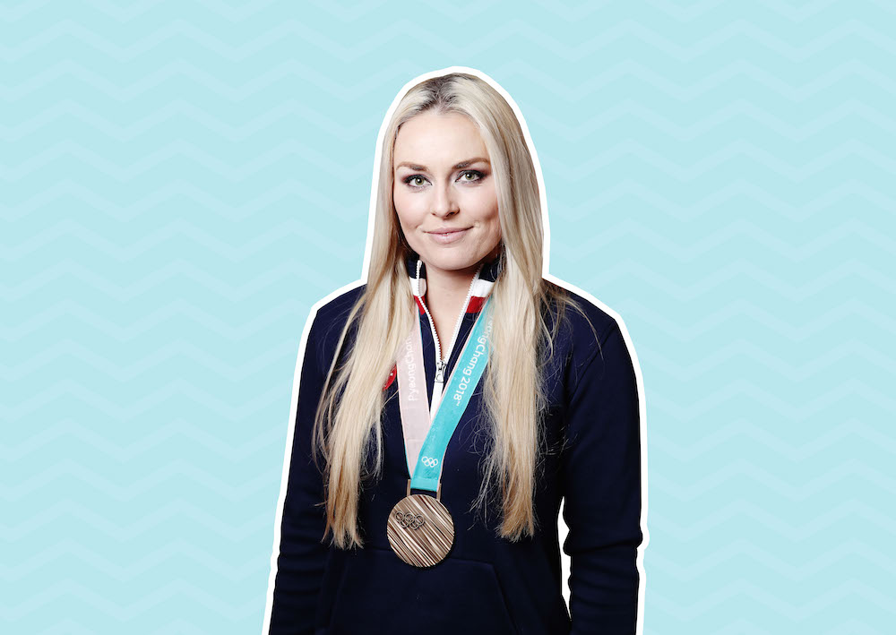 """Lindsey Vonn talks to us about her """"basic"""" beauty routine, and what she'll do after the Olympics"""