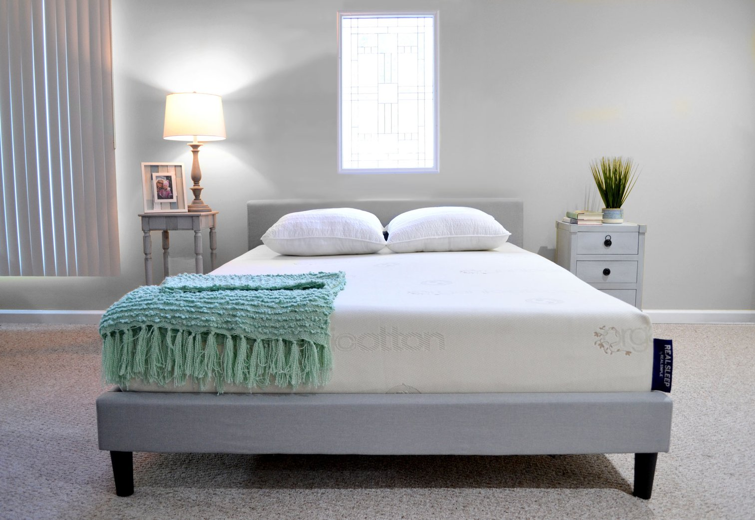 Real Simple has a mattress line, and it's so good it's probably saving my marriage