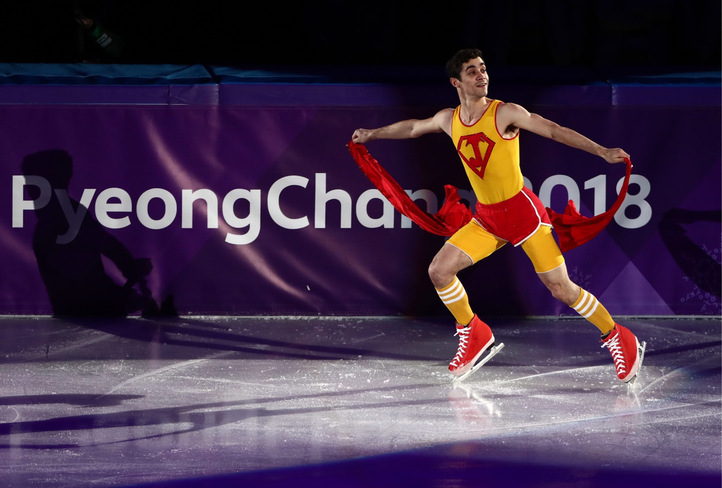 The best moments from the 2018 Winter Olympics figure skating exhibition gala