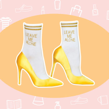 WANT/NEED: The perfect socks for your Monday mood, and more stuff you want to buy