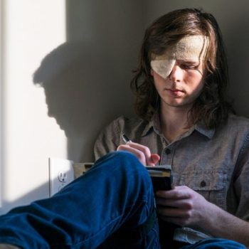 """Fans are still convinced Chandler Riggs was fired from """"The Walking Dead,"""" but no one can figure out WHY"""